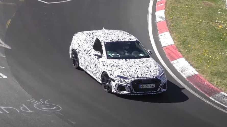 VIDÉO - L'Audi RS 3 Berline s'élance sur le Nürburgring