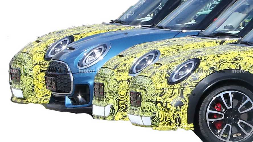 Mini Cooper Hardtop spied showing sportier look