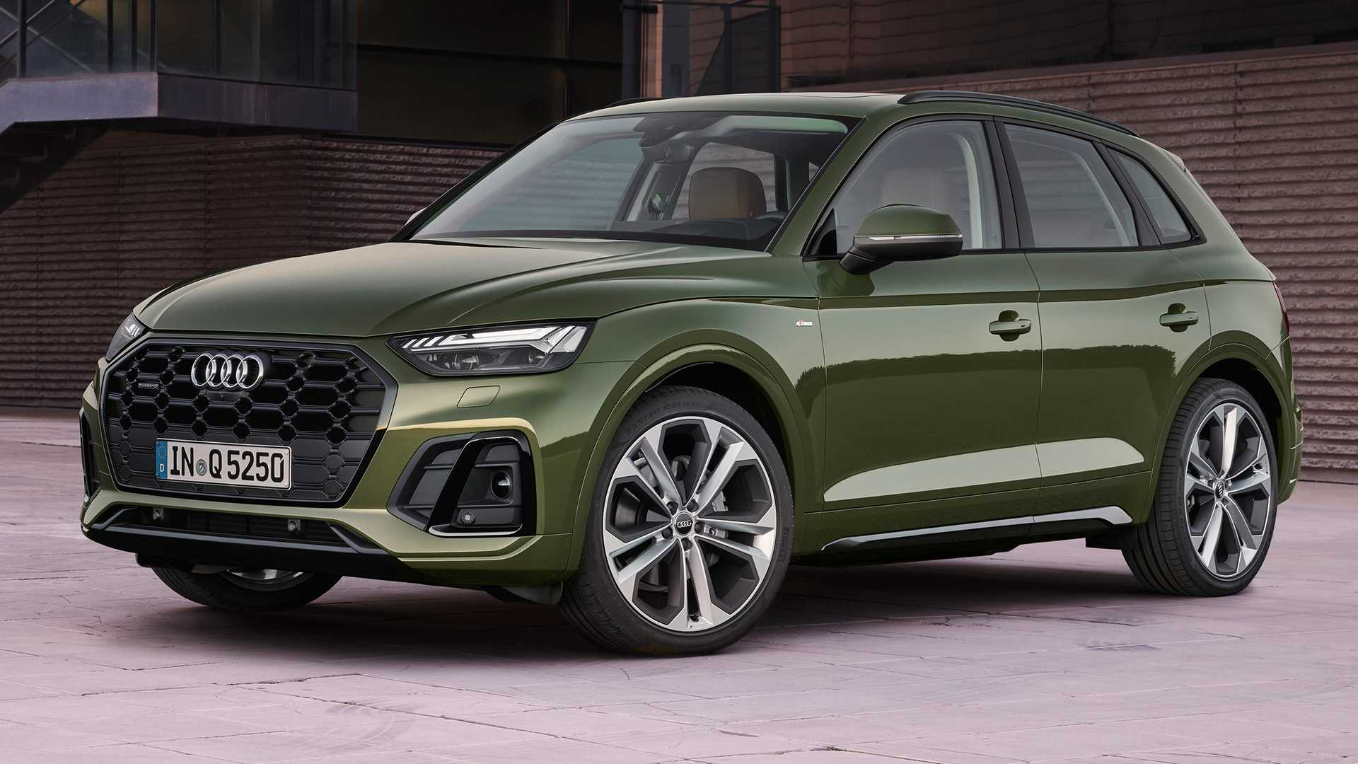 Updated 2021 Audi Q5 Debuts With A Fresh New Look And ...