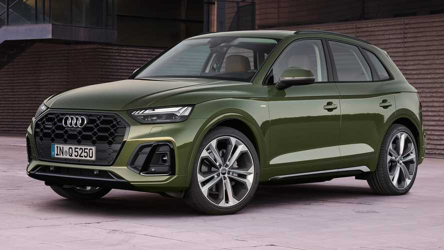 Updated 2021 Audi Q5 debuts with fresh new look
