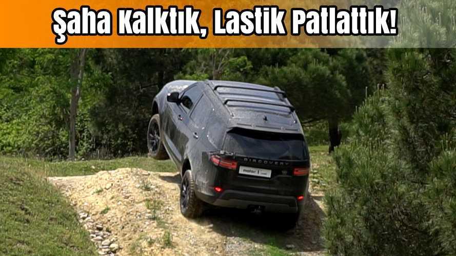 Şaha Kalktı, Lastik Patlattı! | Land Rover Discovery Sd6 ile Off-Road