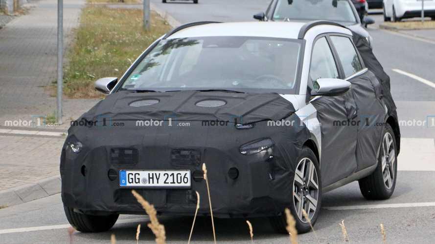 Megjöttek az első képek a Hyundai Európába szánt kis crossoveréről