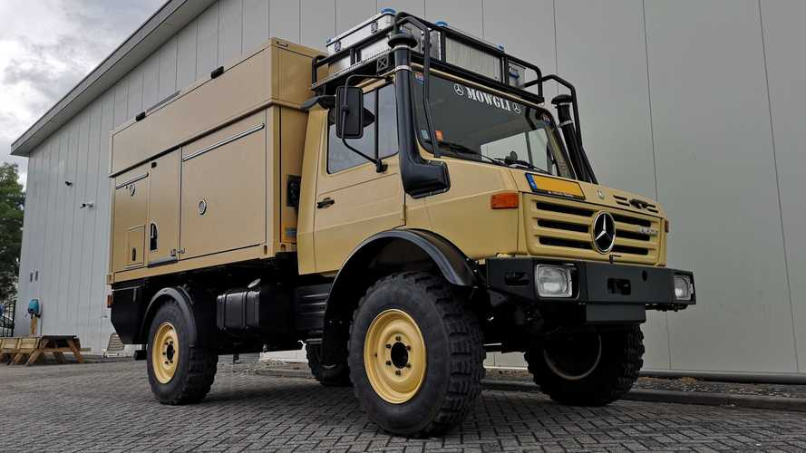 Unimog Pop-Top Expedition Camper Towers Over All At 11.6-Feet Tall