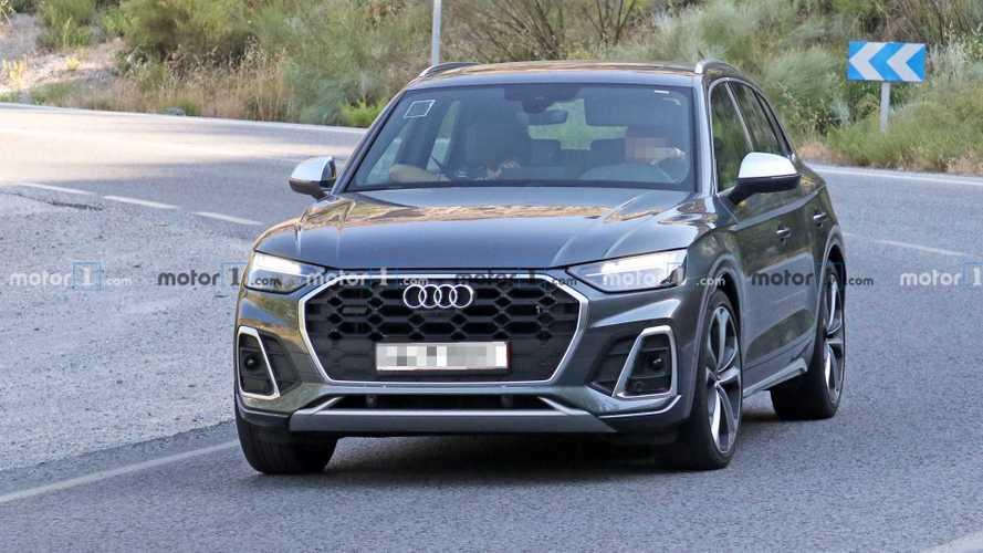 2020 Audi SQ5 makyajlı yüzünü gizlemeye bile çalışmıyor