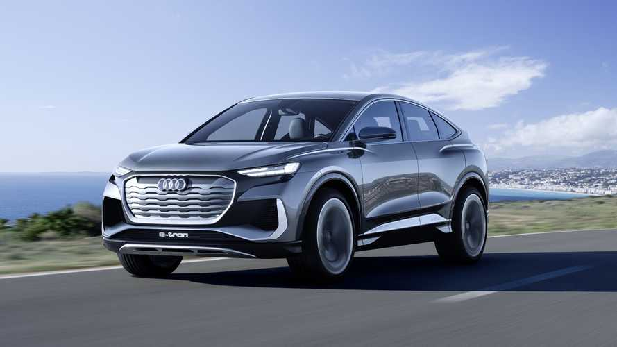 Audi Q4 Sportback E-Tron Concept Getts Coupe-Like Body To Increase EV Family