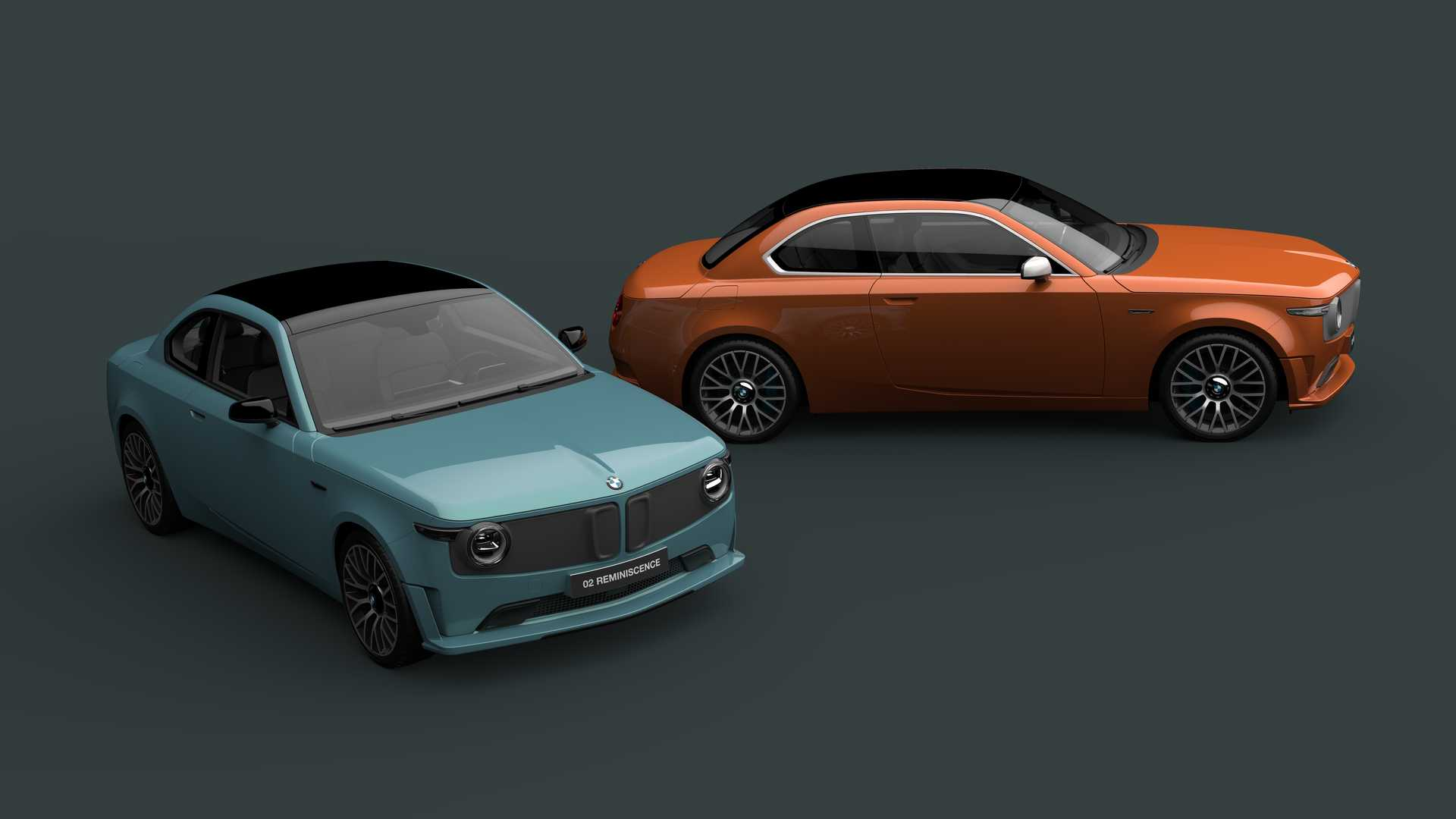 BMW 02 Reminiscence Concept Is A Lovely Tribute To Brand's First EV