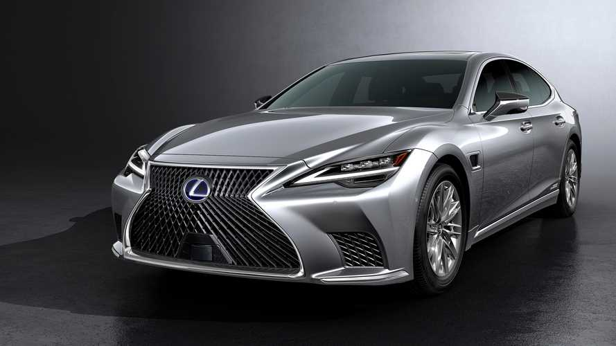 Updated Lexus LS starts at just under £79,000