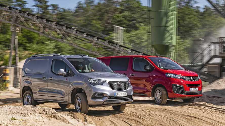 Opel Combo Cargo und Opel Vivaro mit Allradantrieb