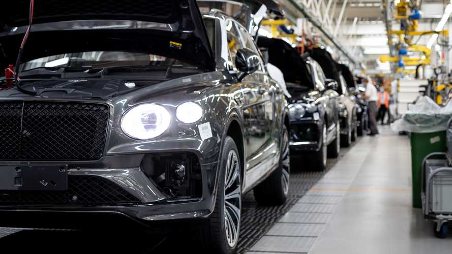 Bentley is ramping up Bentayga production
