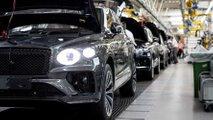 Производство обновленного Bentley Bentayga