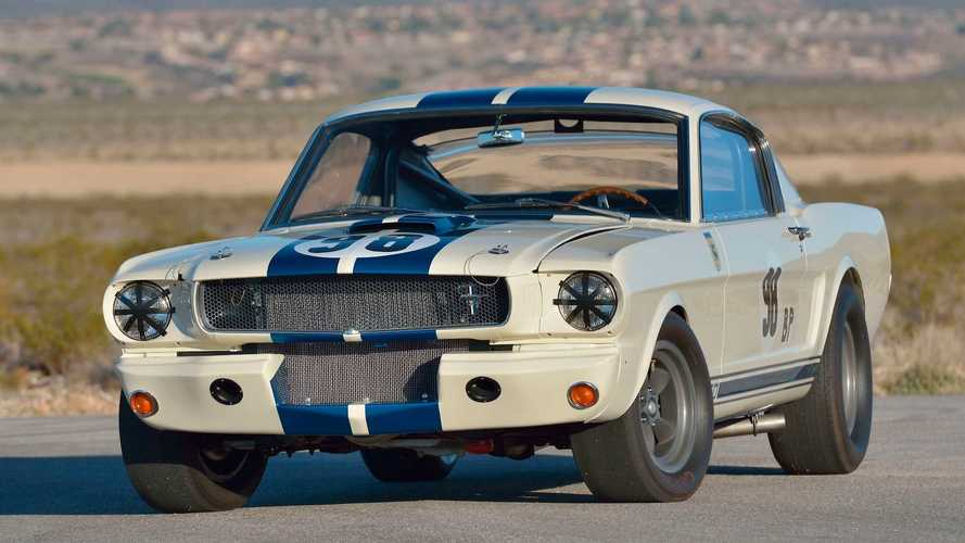Ken Miles' Mustang Shelby GT350R Just Set A Very Expensive Record