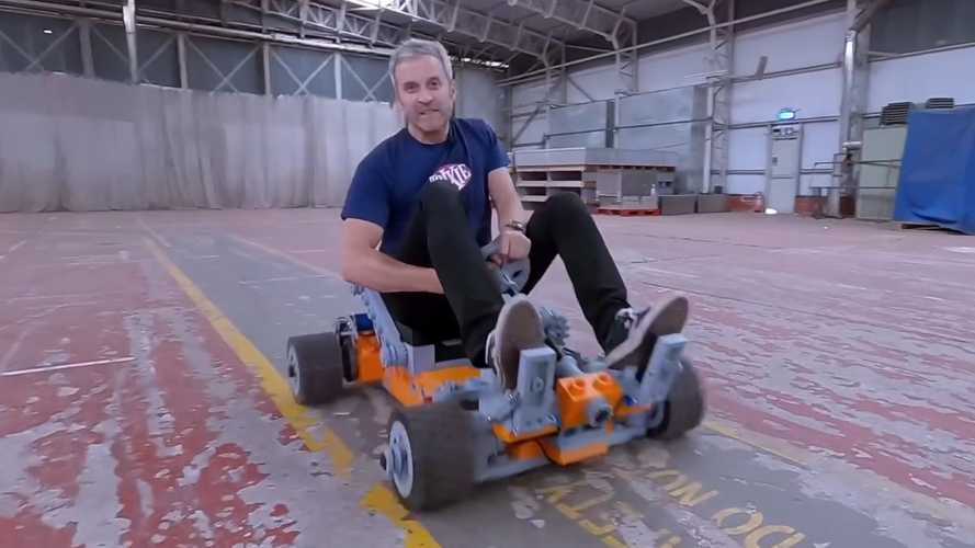 Watch Guy Test Drive His Life-Sized 3D-Printed Lego Go-Kart