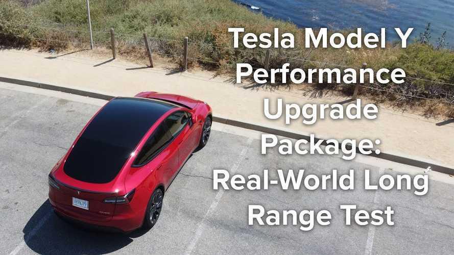 Tesla Model Y Performance Real-World Range Test