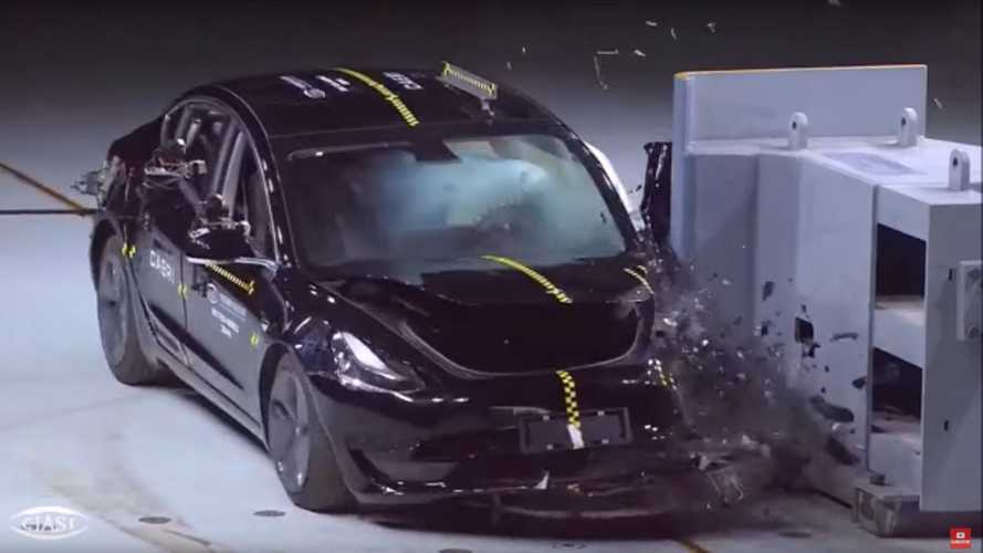 Watch Made In China Tesla Model 3 Get Crash Tested