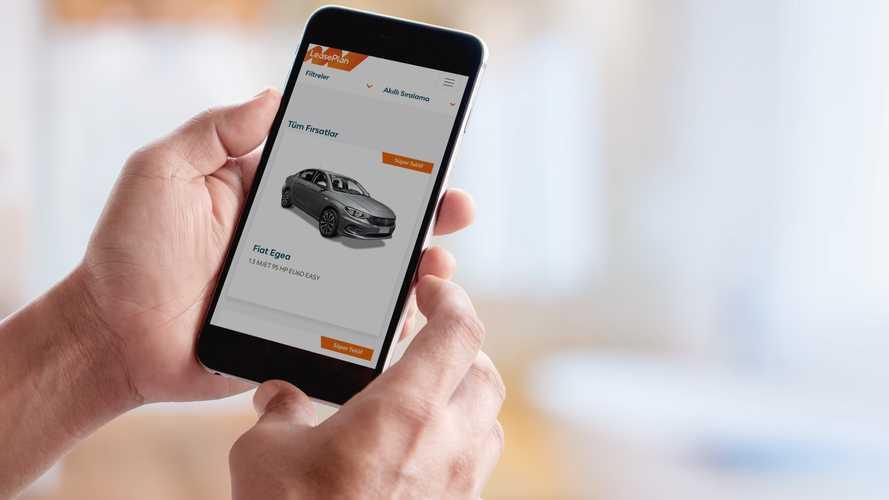 Şirketler araçlarını online kiralayabiliyor
