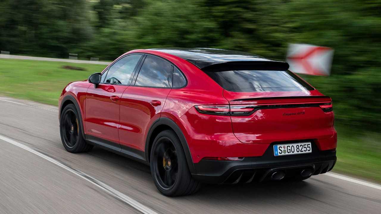 2020 Porsche Cayenne Pictures