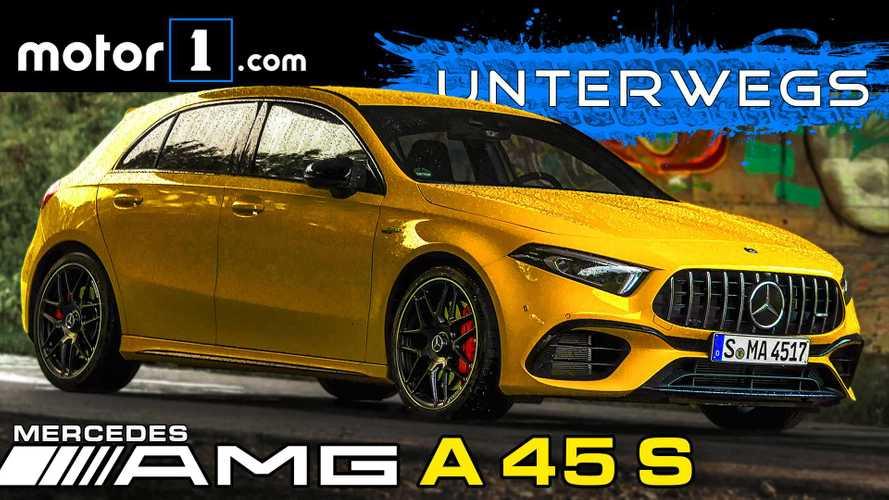 Video: Mercedes-AMG A45 S im Test - Das Beste oder nichts?