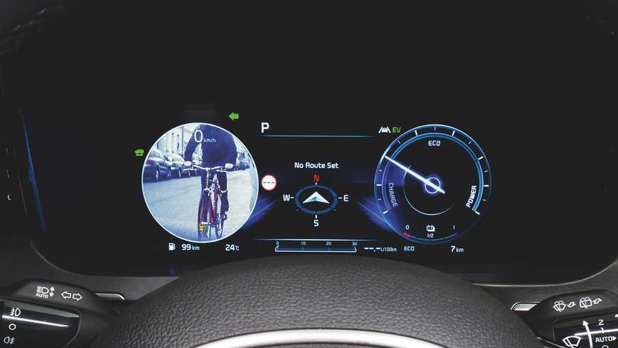 KIA Sorento 2020: los vehículos en el ángulo muerto se ven en pantalla