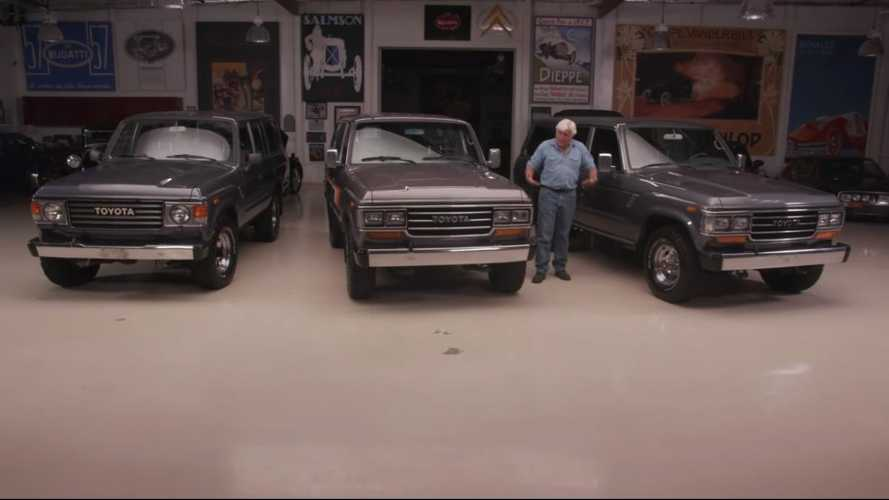 Jay Leno discovers the Land Cruiser's classic status