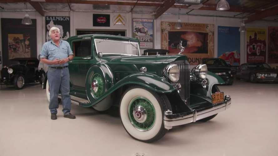 Jay Leno drives Phil Hill's 1932 Packard Twin-Six