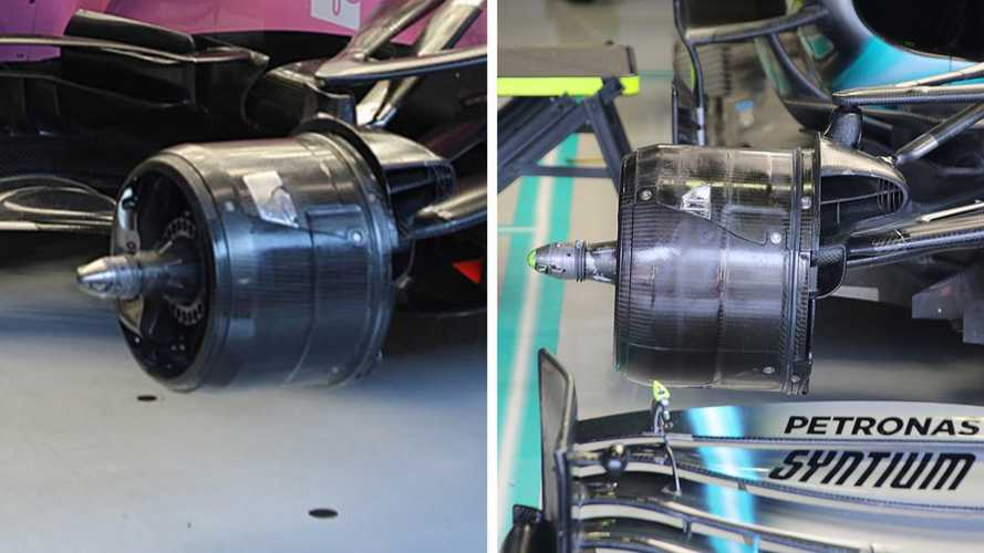 Formula 1, Racing Point: brake duct indentiche a quelle Mercedes