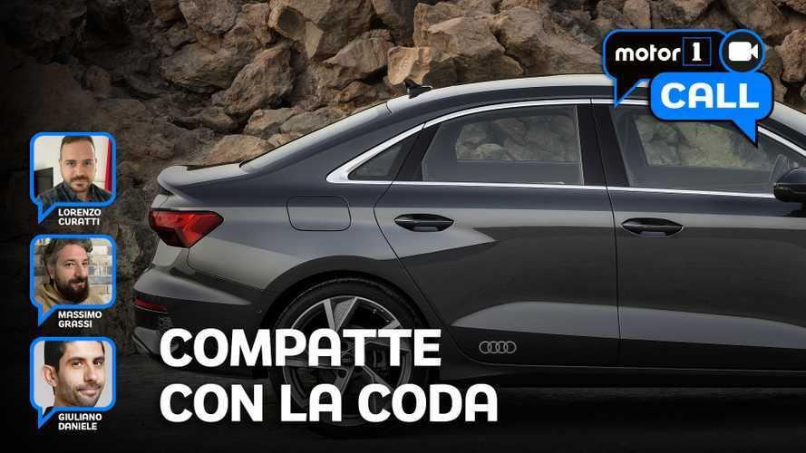Audi A3 Sedan e le altre compatte con la coda: voi le comprereste?