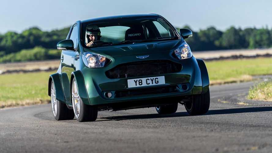430bhp Aston Martin V8 Cygnet debuts at Festival of Speed