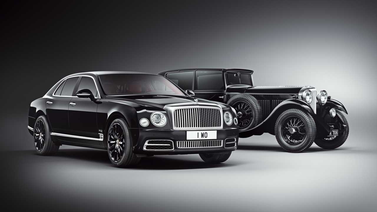 Bentley centenary marked with limited edition new Mulsanne