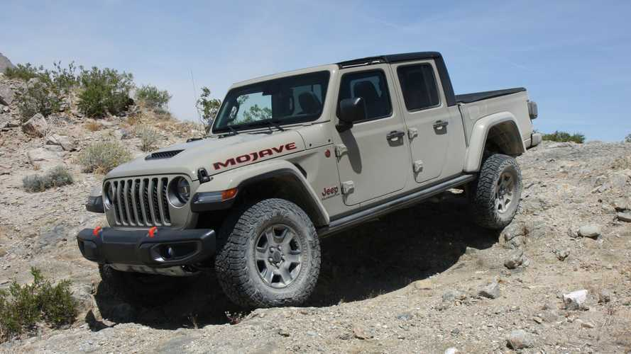 2020 Jeep Gladiator Mojave Exterior Off-Roading