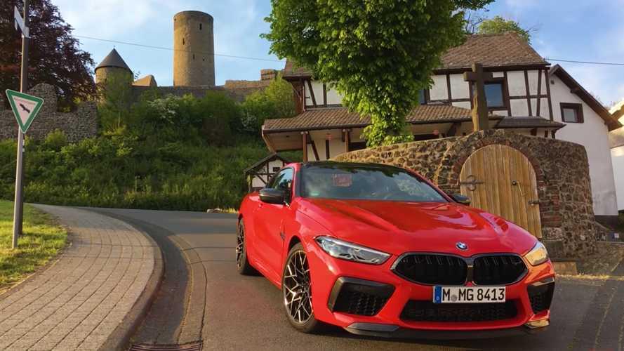 BMW M8 Competition'ın çarpıcı Nürburgring performansını izleyin