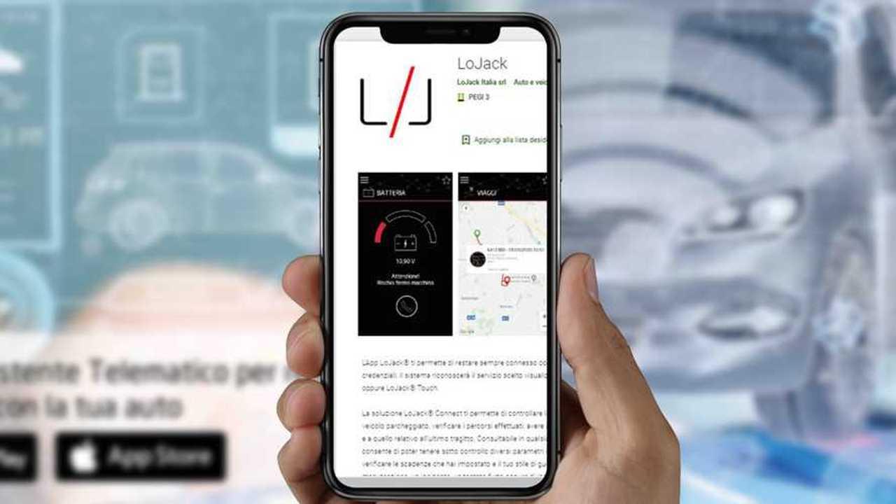 Smartphone App LoJack