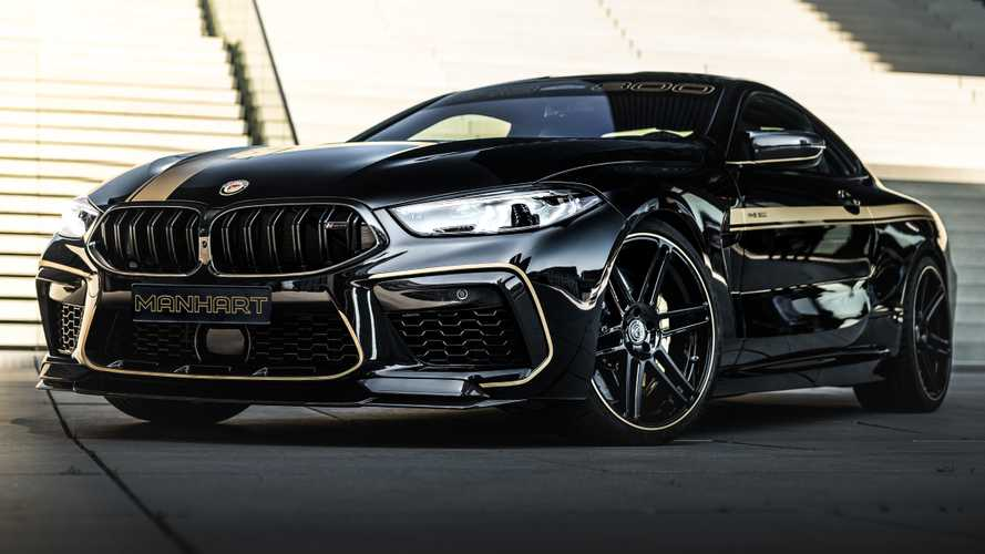 BMW M8 Competition by Manhart is 911 Turbo S quick