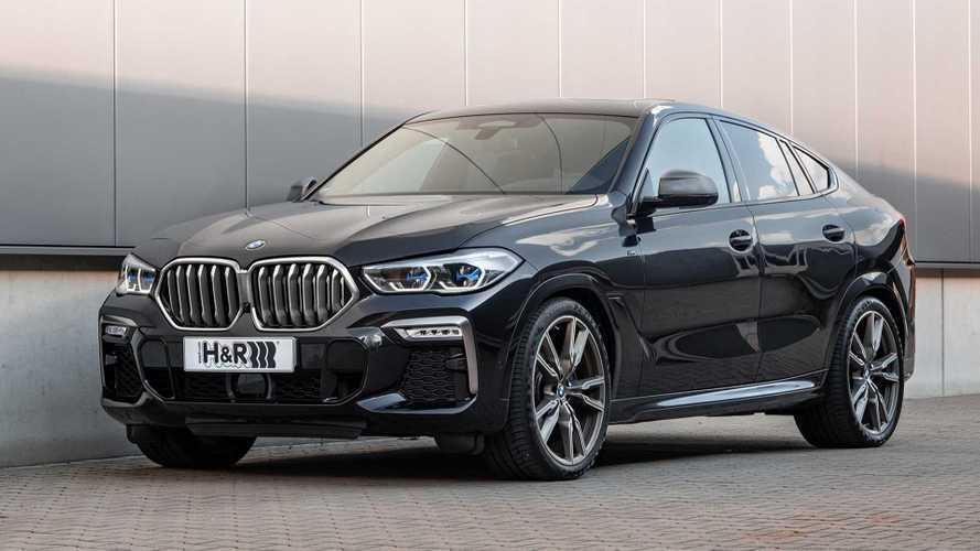 H&R-Sportfedern für den BMW X6