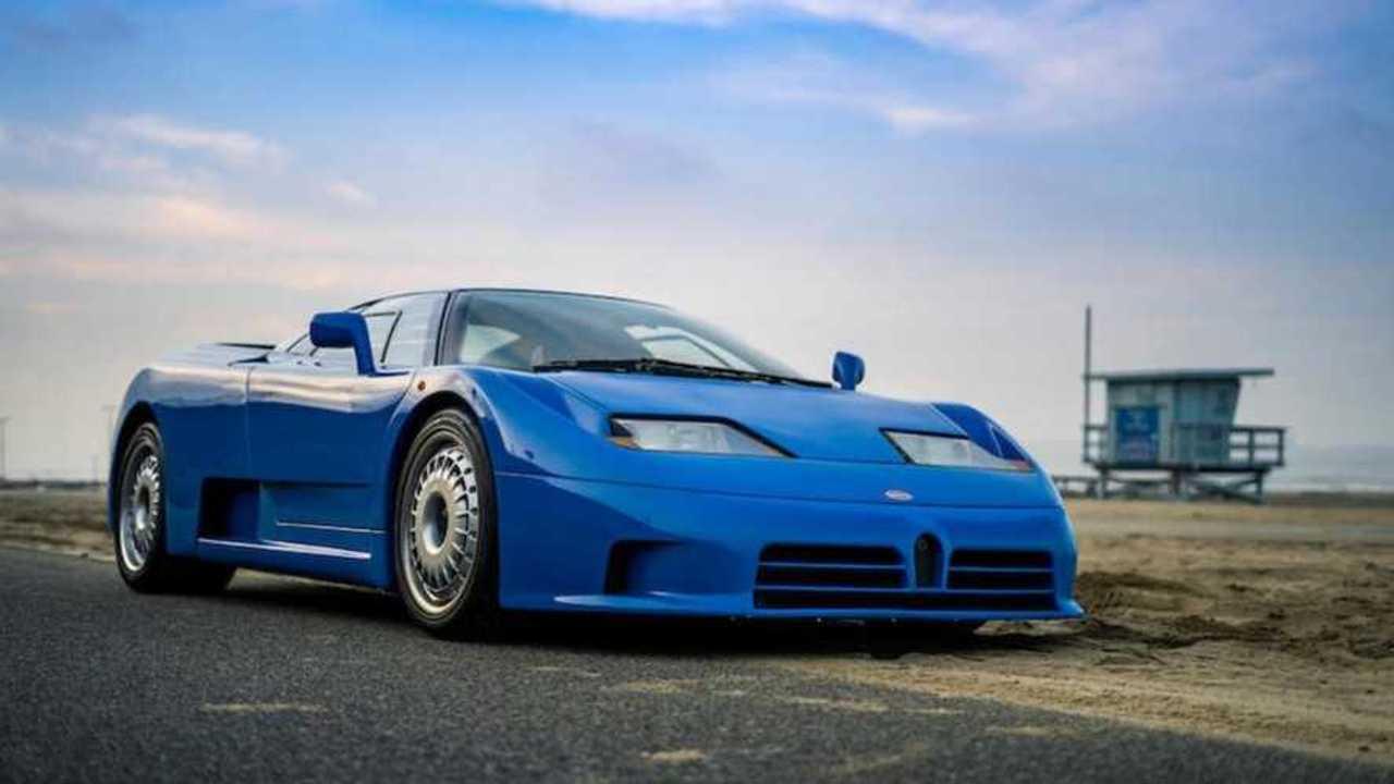This 1993 Bugatti EB110 was the dawn of a new era