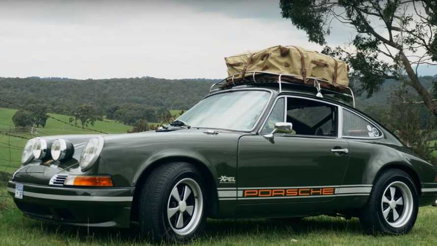 This Porsche owner ships his 911T instead of using a rental
