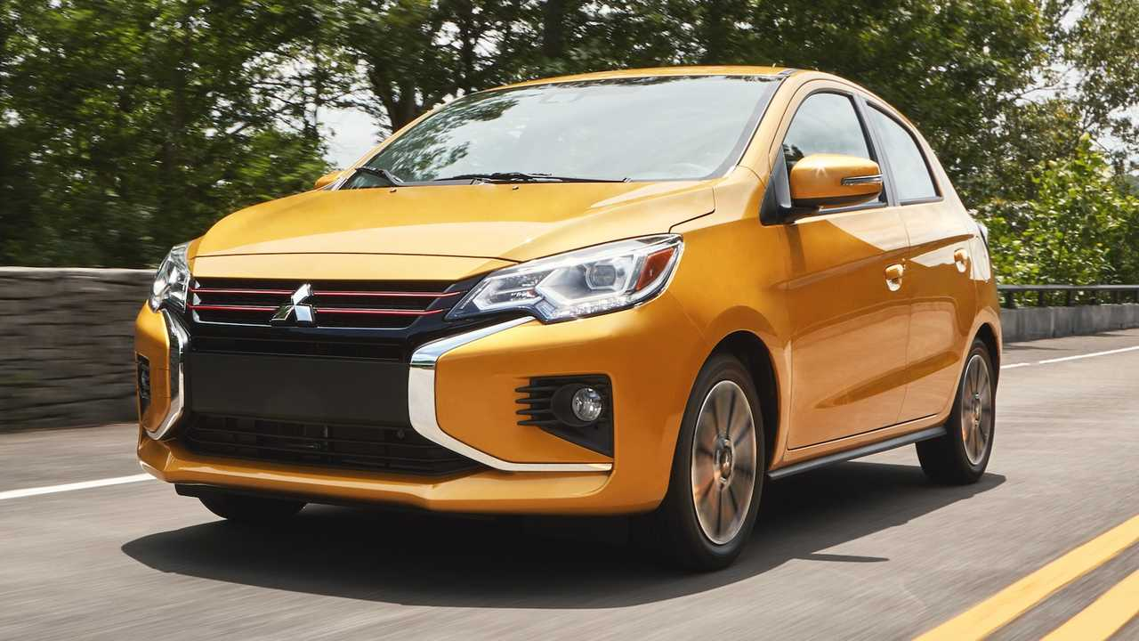 2021 mitsubishi mirage redesign revealed amid brand's