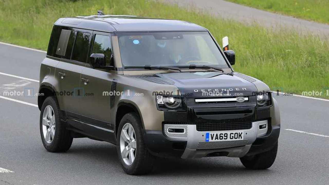 Land Rover Defender V8 Spion Fotos