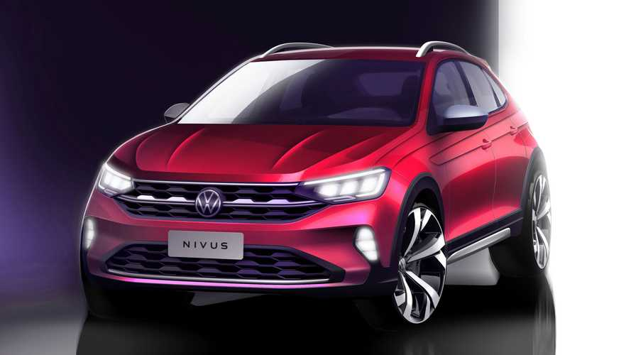 Volkswagen Nivus mostra dianteira em último teaser antes da apresentação oficial