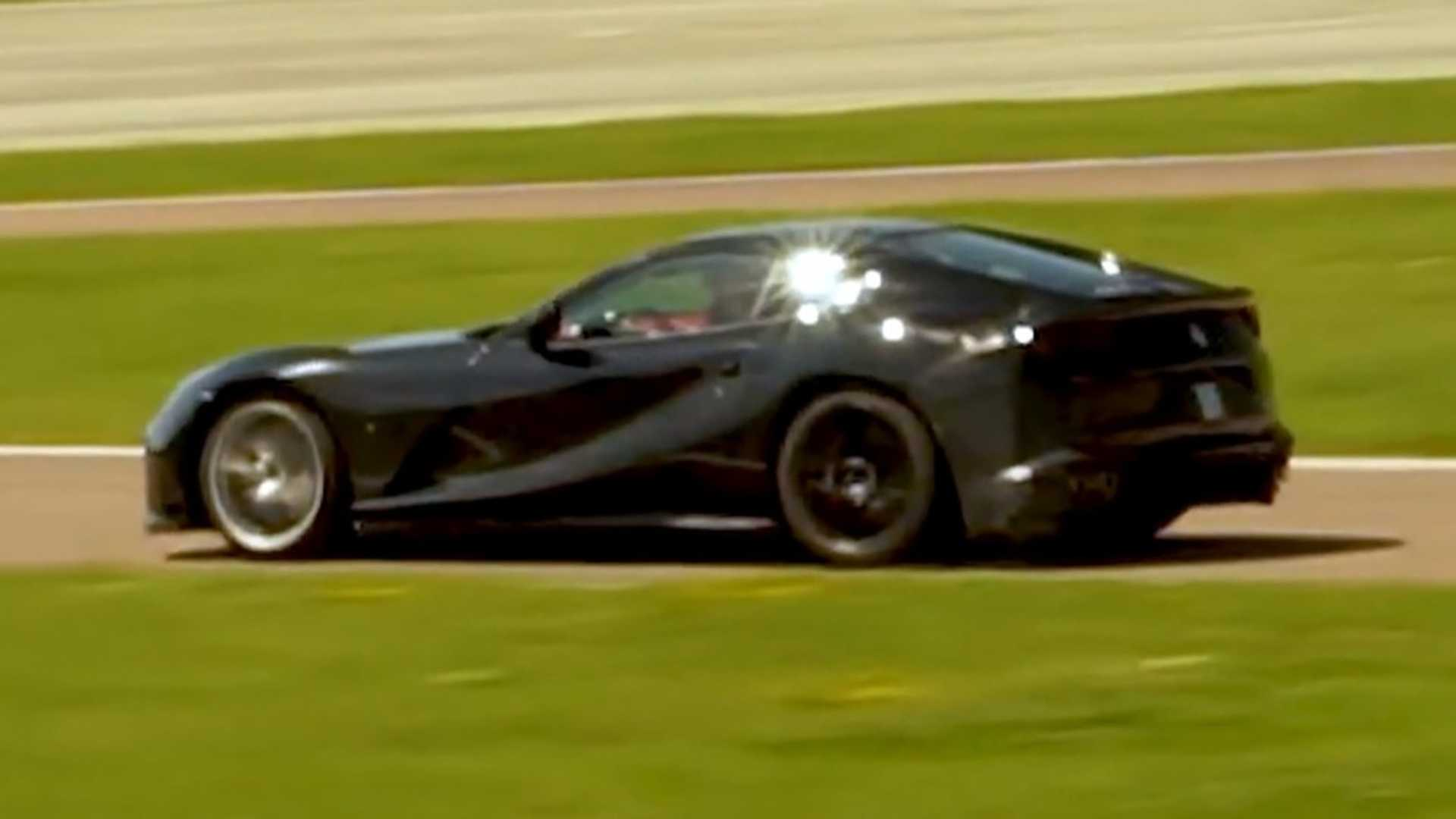 Ferrari Spied Possibly Testing Hotter 812 Superfast At Fiorano