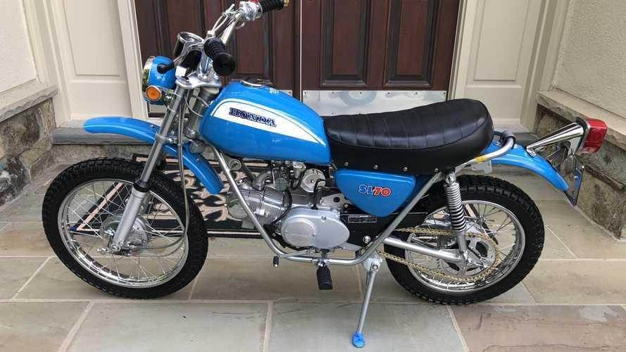 The SL70 Was A Rare Also-Ran For Honda