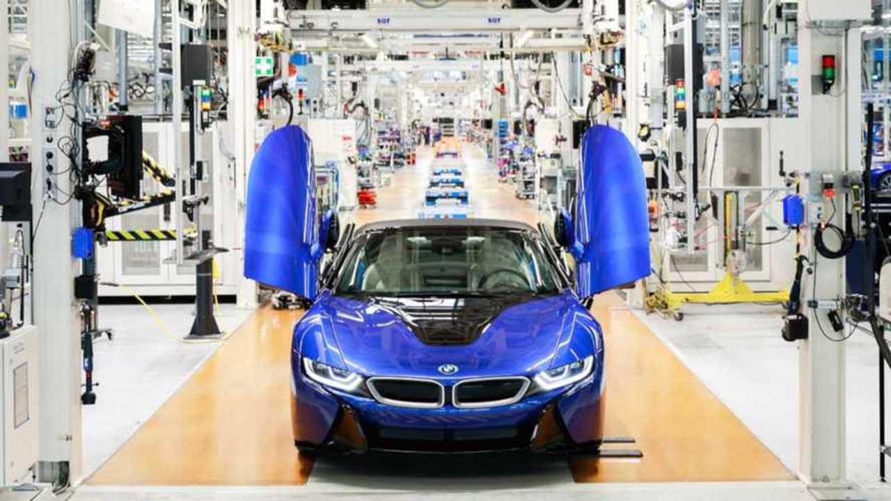 BMW i8 final car built