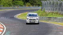 BMW 2 Series Active Tourer spy photos from Nurburgring