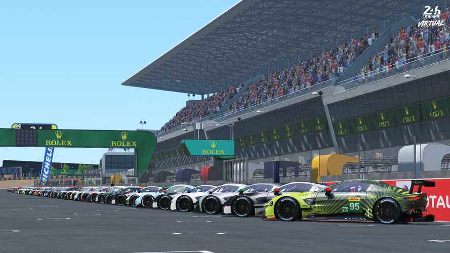 We're helping put on the Virtual 24 Hours of Le Mans race in June