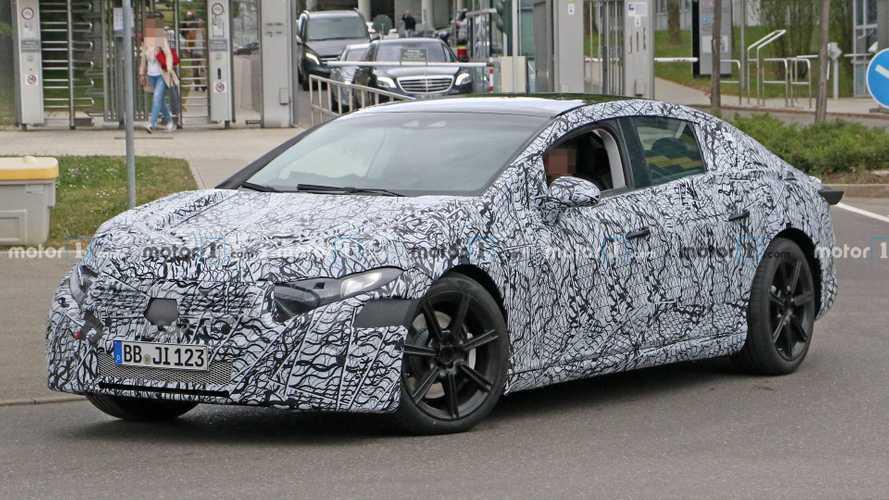 La Mercedes-Benz EQS apparaît une nouvelle fois