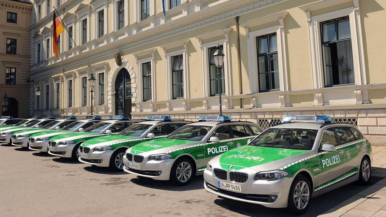 Polizeiautos in Deutschland: BMW 5er Touring