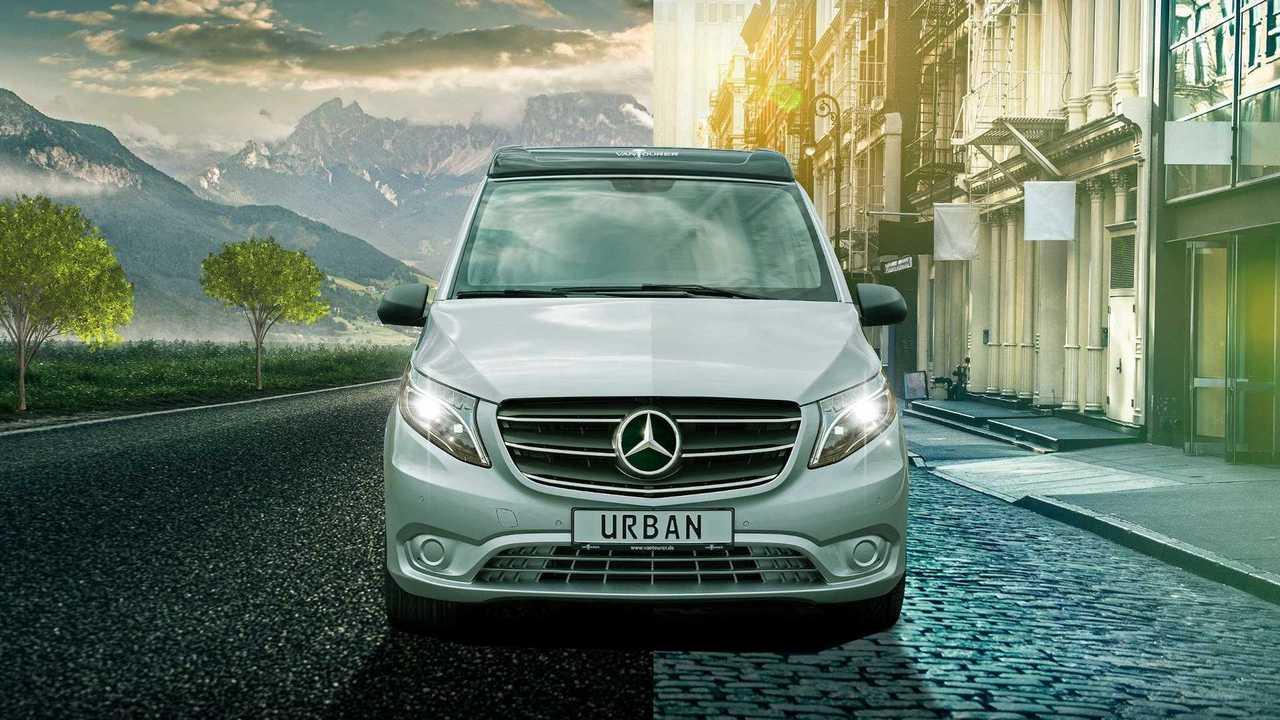 EuroCaravaning VanTourer Urban: Das erste Wohnmobil der Herstellers auf Basis des Mercedes Vito