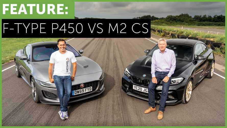 Videó: Nincs akkora különbség a BMW M2 CS és a Jaguar F-Type között, mint az ember gondolná