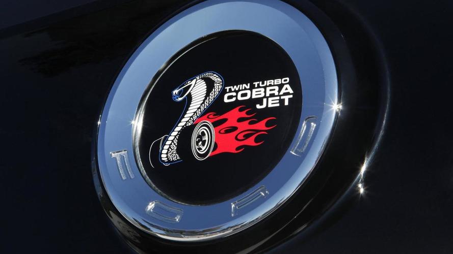 Ford Mustang Cobra Jet Concept presented at SEMA