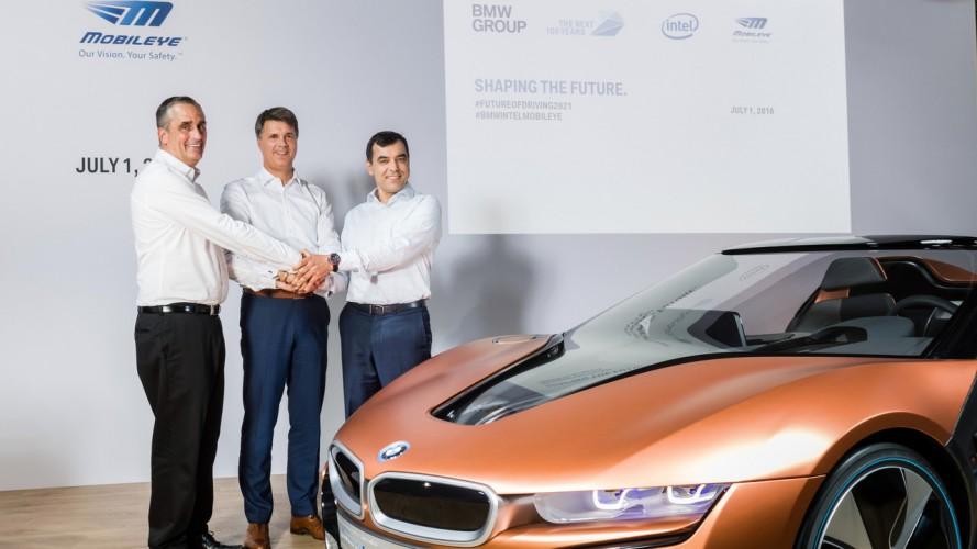 Partenariat BMW - Intel - Mobileye