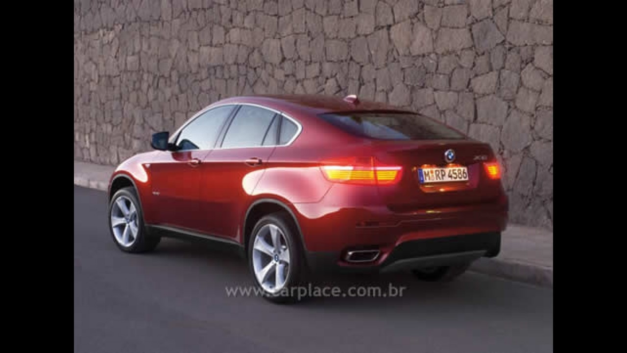 Salão de Detroit 2008: Veja o vídeo do novo BMW X6 Sports Activity Coupé